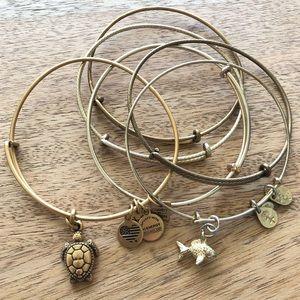 Alex and Ani Expandable Bracelet Set